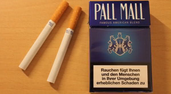 pall mall entre as marcas de cigarro mais caras do mundo