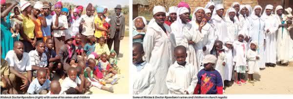 Misheck Doctor Nyandoro entre pais com maior numero de filhos na historia