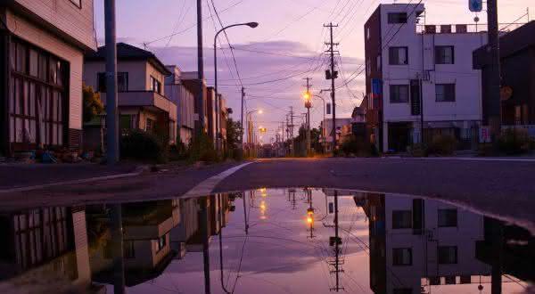 Namie entre as cidades fantasmas ao redor do mundo