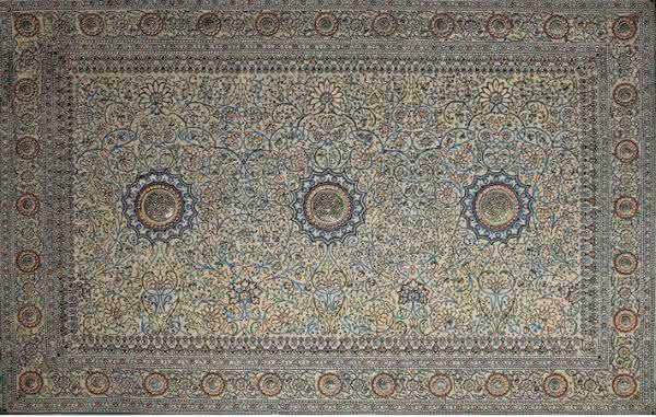 Pearl Carpet of Baroda tapetes mais caros do mundo