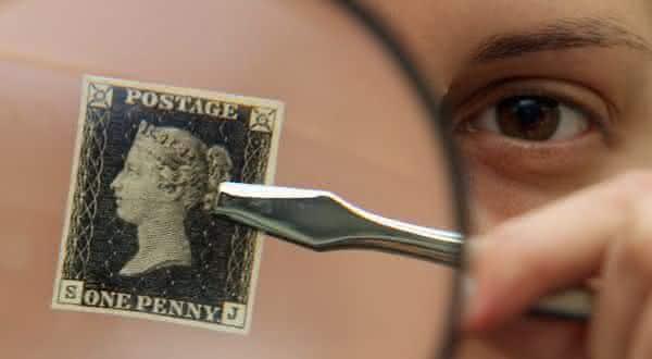 Penny Black entre os selos mais caros do mundo