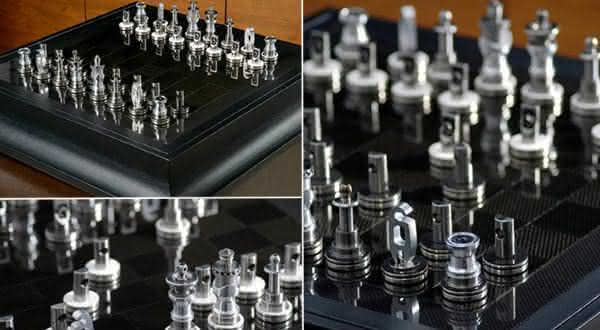 Renault F1 Team Collection jogos de xadrez mais caros do mundo