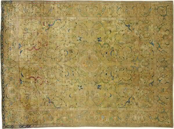 Silk Isfahan  tapetes mais caros do mundo