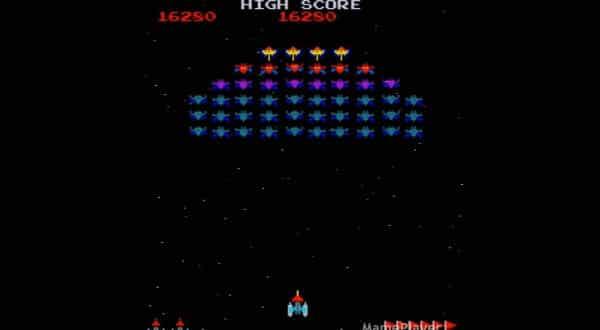 Galaxian  entre os jogos de fliperama mais populares de todos os tempos