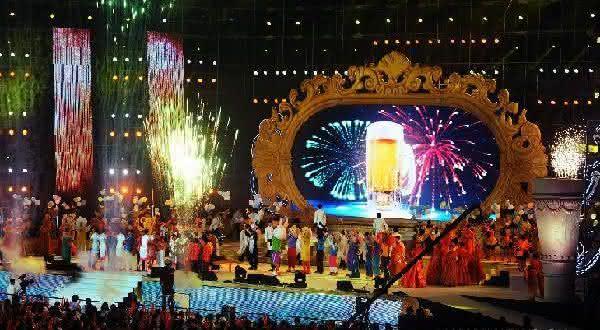 Qingdao International Beer Festival entre os melhores festivais de bebidas do mundo