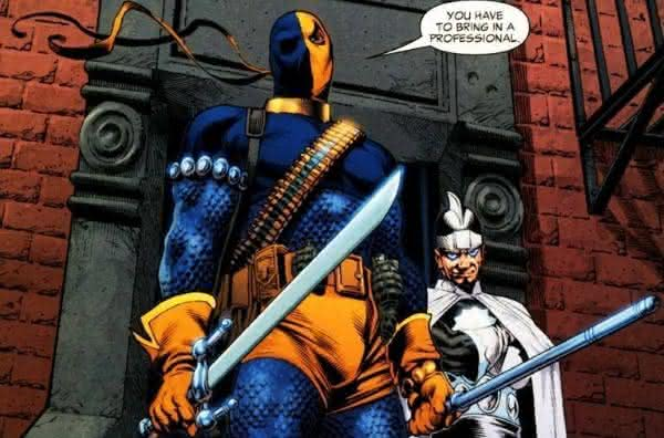 DeathStroke  Teen Titans  entre os fatos incriveis sobre Deadpool