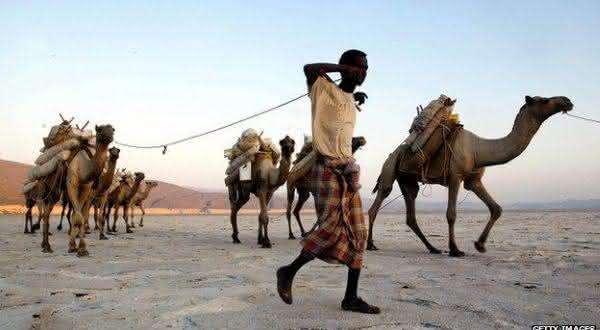 Djibouti entre os paises com maiores medias de temperaturas