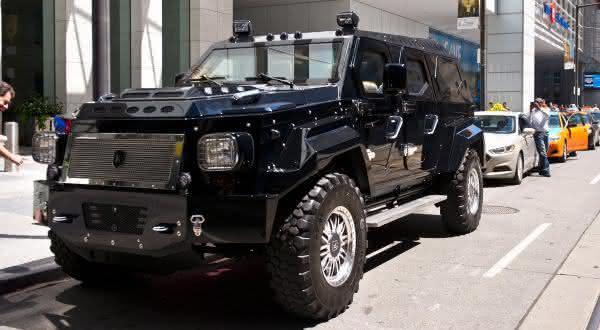 Knight XV entre os carros blindados mais caros do mundo
