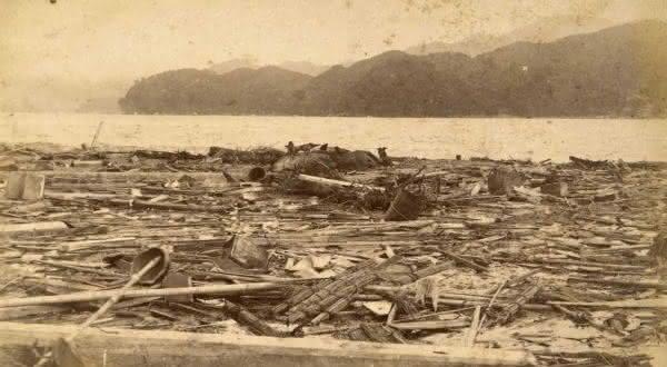 Meiji-Sanriku entre os piores tsunamis da historia
