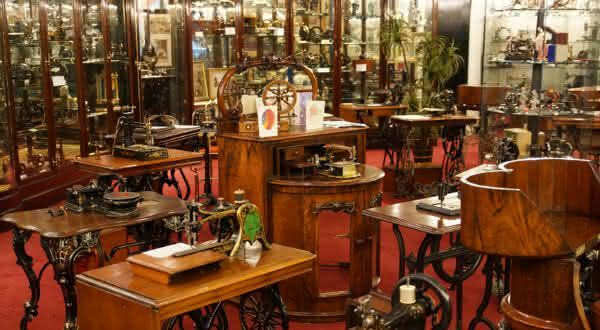Sewing Machine Museum entre os mais estranhos museus do mundo
