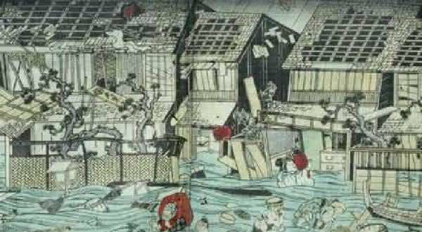 Terremoto Hoei entre os piores tsunamis da historia