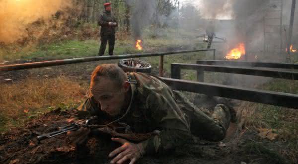 boinas vermelhas 2 entre os exercicios militares extremos
