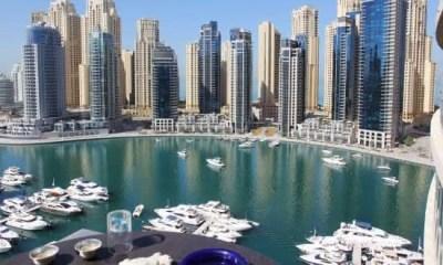 emirados entre os paises com a maior media de moradores ricos