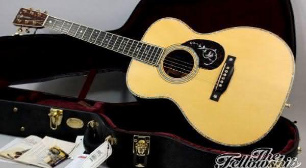 Martin OM-45 Deluxe entre os violoes mais caros do mundo
