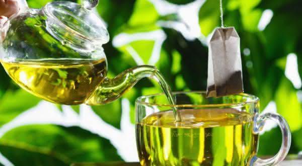 cha verde alimentos que contribuem para a perda da gordura na barriga