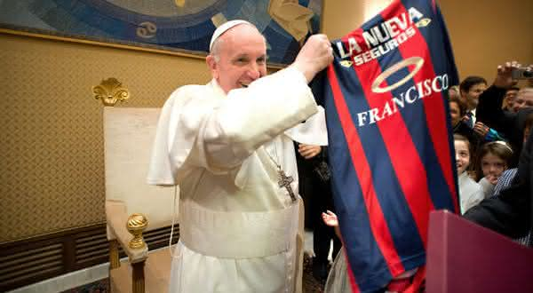 futebol coisas que voce nao sabia sobre o Papa Francisco