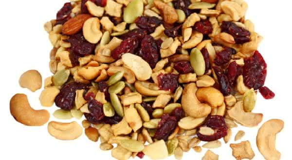 nozes sementes alimentos que contribuem para a perda da gordura na barriga