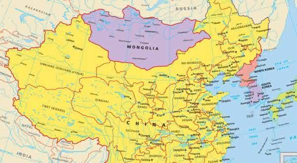China Mongolia entre as maiores fronteiras terrestres do mundo