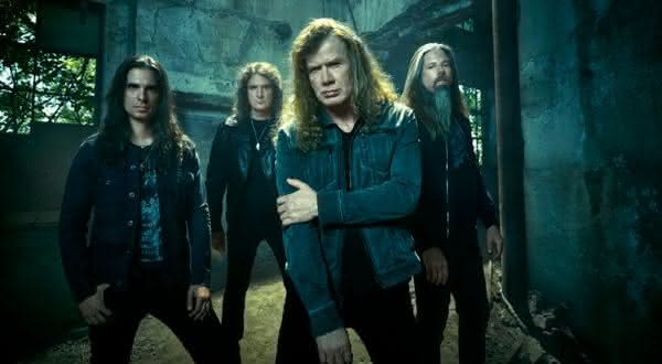 Megadeth  entre as melhores bandas de heavy metal de todos os tempos