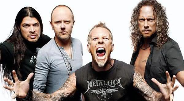metallica entre as melhores bandas de heavy metal de todos os tempos