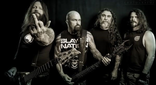 slayer entre as melhores bandas de heavy metal de todos os tempos
