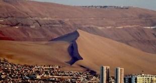 Iquique entre os lugares mais secos do mundo