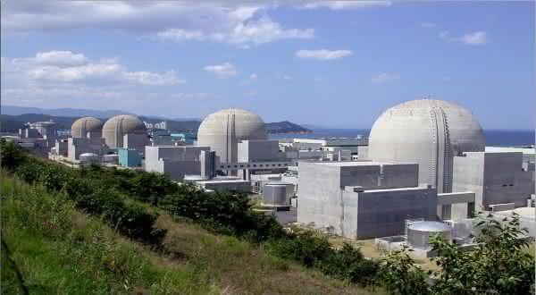 Oi entre as maiores usinas nucleares do mundo