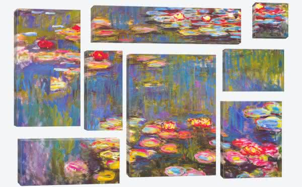 Water Lilies entre as pinturas mais famosas do mundo
