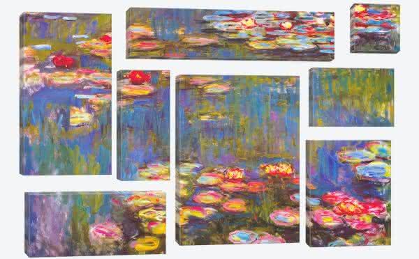 Water Lilies entre as pinturas mais famosas do mundo