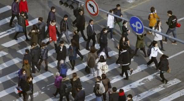 coreia do sul entre os paises com menor taxa de natalidade