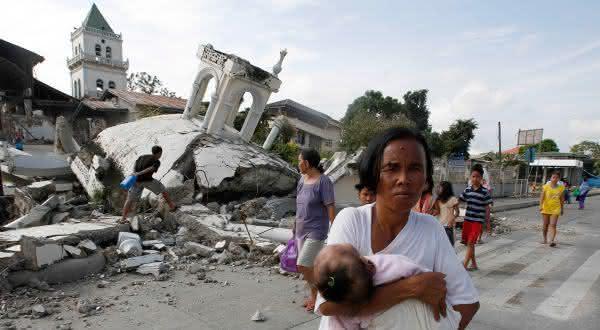 filipinas entre os paises mais propensos a terremotos