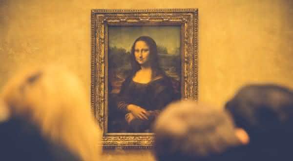 monalisa entre as pinturas mais famosas do mundo