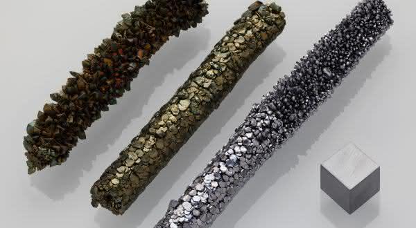 vanadio entre os metais mais fortes do mundo