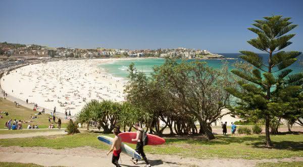 bondi Beach entre as praias urbanas mais bonitas do mundo