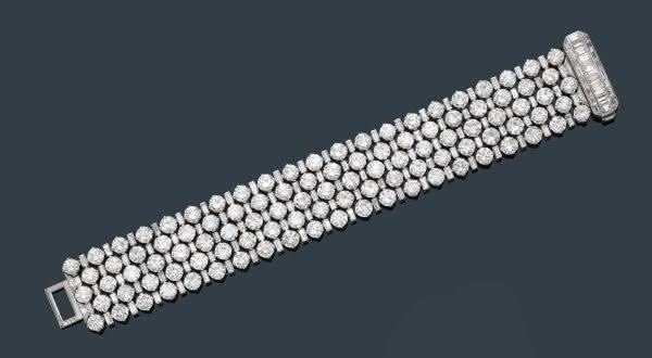 diamante de Van Cleef and Arpels entre as pulseiras mais caras do mundo