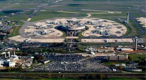 franca entre os paises com mais aeroportos do mundo