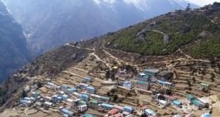 Namche Bazaar entre as cidades de maior altitude no mundo