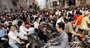 china entre os países com mais bicicletas por habitantes