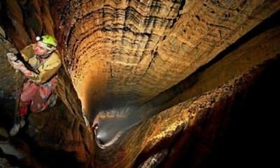 krubera entre os lugares mais profundos da terra