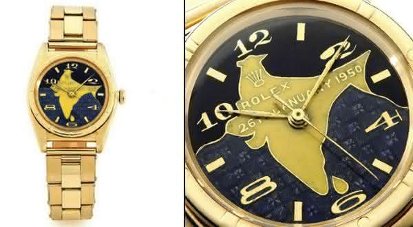 Dr Rajendra Prasads Gold Rolex Oyster entre os relogios rolex mais caros do mundo