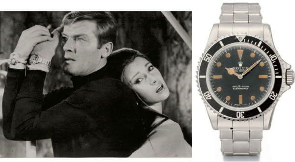James Bond 1973 Rolex 5513 entre os relogios rolex mais caros do mundo