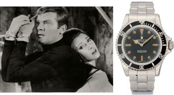 James Bond 1973 Rolex 5513 entre os relogios rolex mais caros do mundo