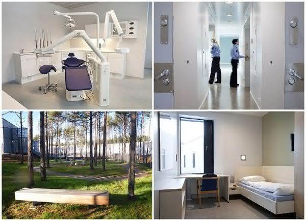 Justice center entre as prisões mais luxuosas do mundo