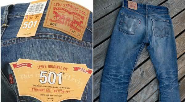 Levi Strauss e Co 501 jeans entre os jeans mais caros do mundo