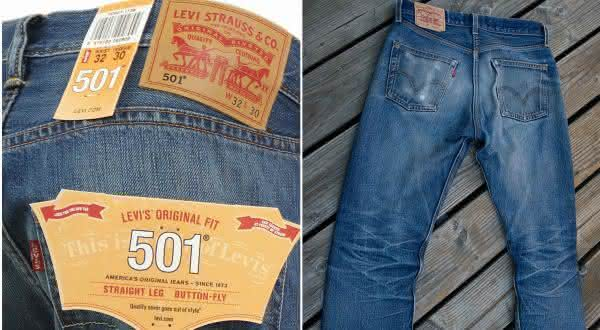 Levi Strauss e Co 501 jeans entre os jeans mais caros do mundo