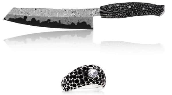 studded entre as facas mais caras do mundo