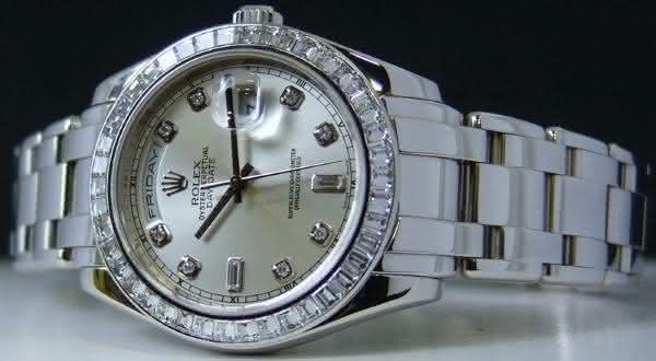Rolex Platinum Pearlmaster 18956 entre os relogios rolex mais caros do mundo