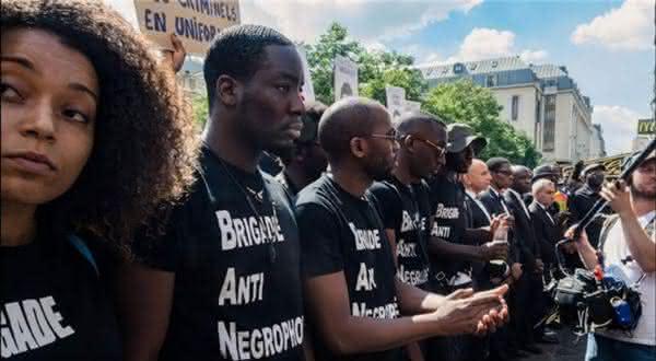 frança  entre os países com maior população negra fora da África