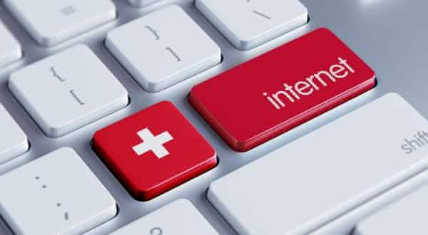 suica entre os países com a internet mais rápida do mundo