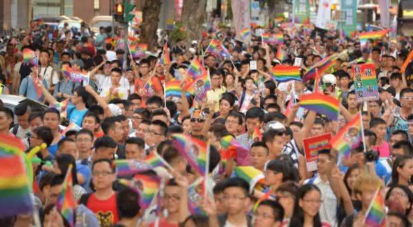 taiwan entre os países com maior população gay do mundo